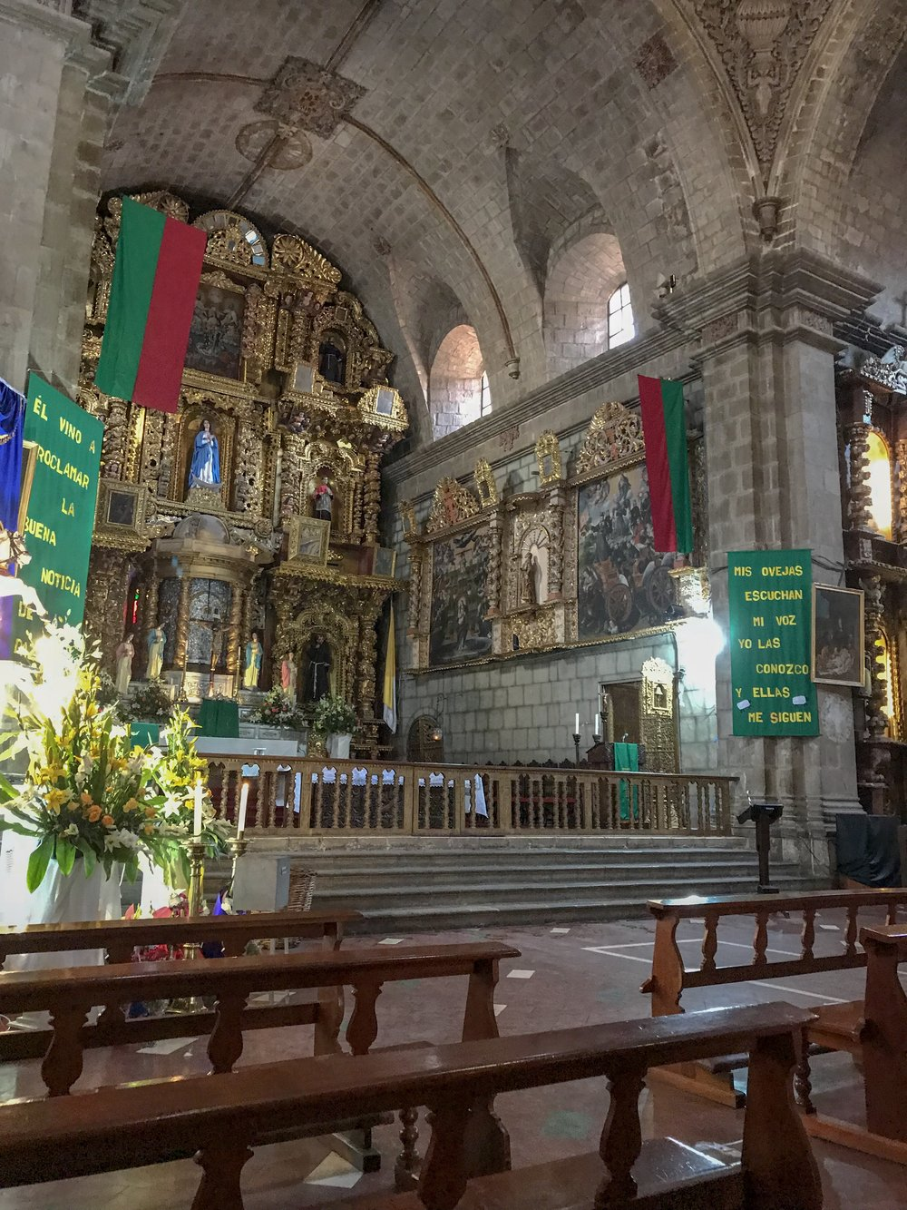 High Altar of the Church of San Francisco