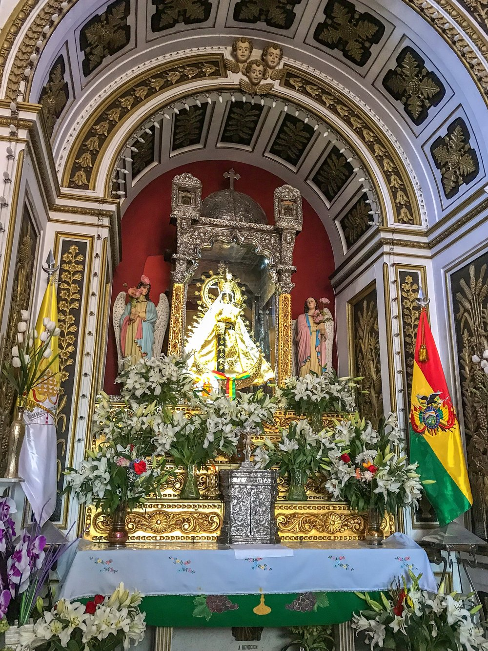 The Virgin of Copacabana
