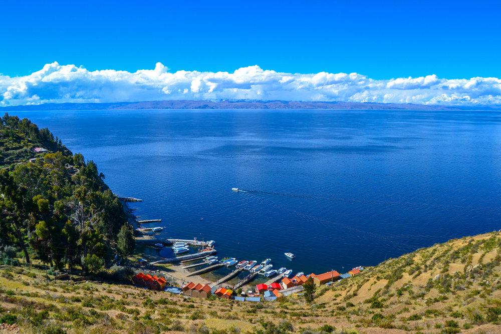 Yumani Port on Isla del Sol