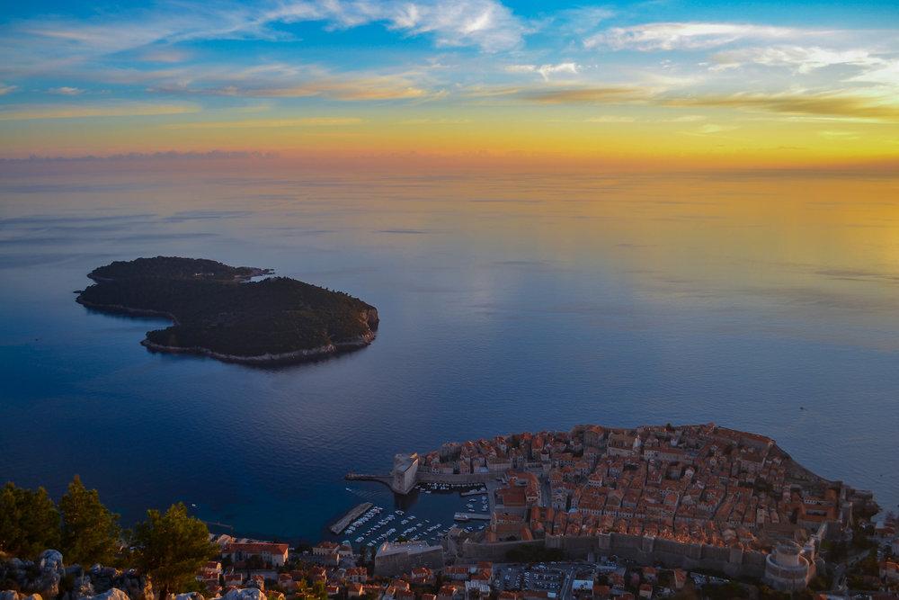 Dubrovnik, Croatia (King's Landing) at sunset