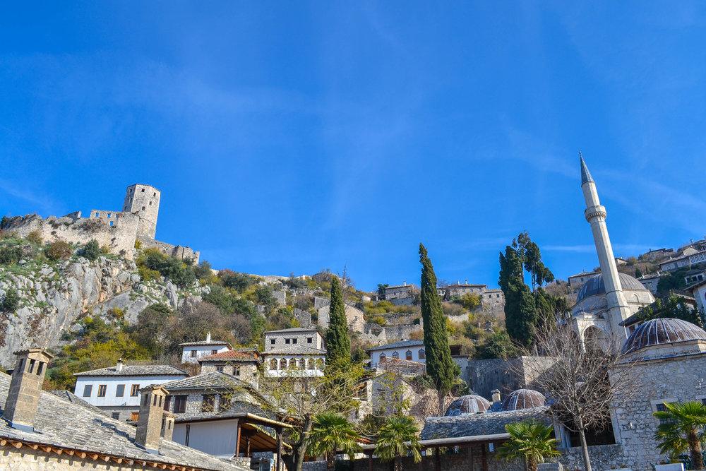 The Citadel of Pocitelj in Bosnia and Herzegovina