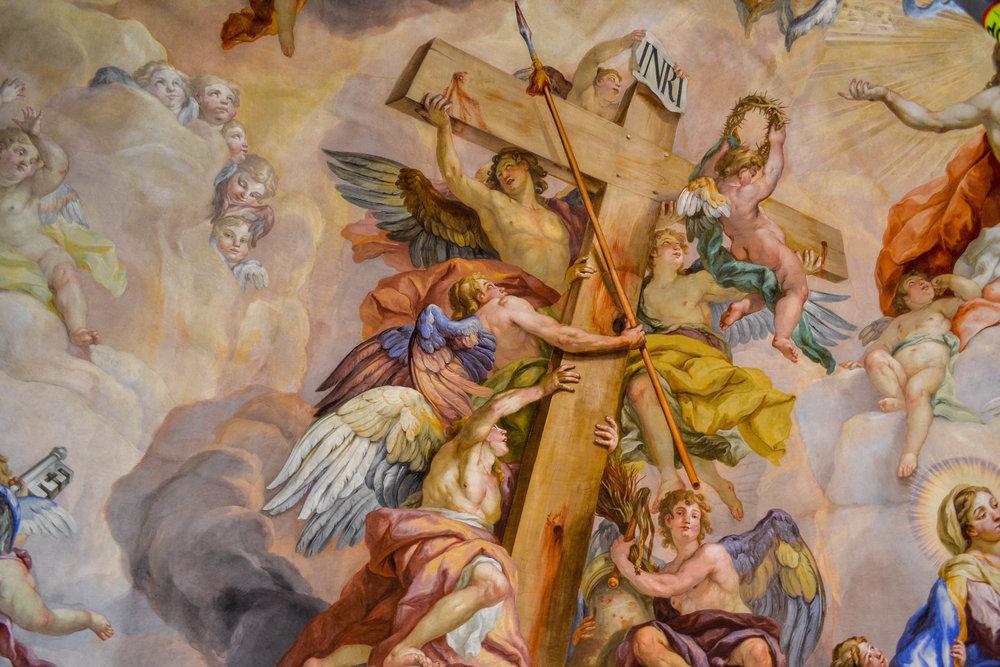Karlskirche Crucifixion