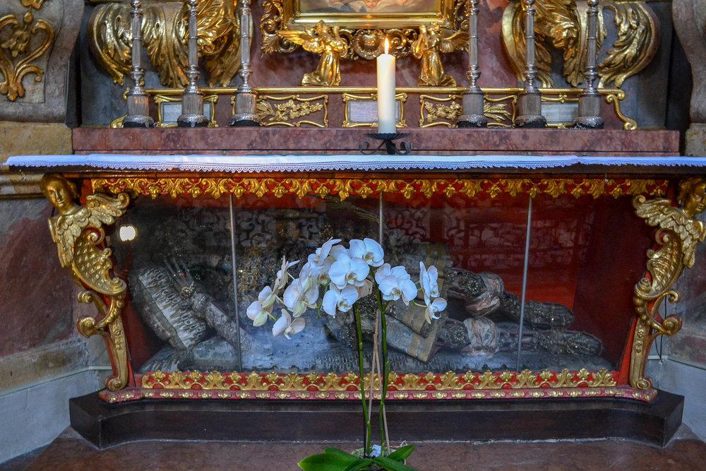 Peterskirche Relics