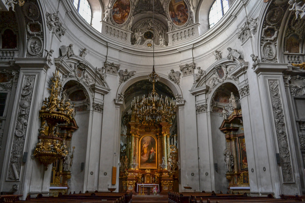 Servite Church Interior