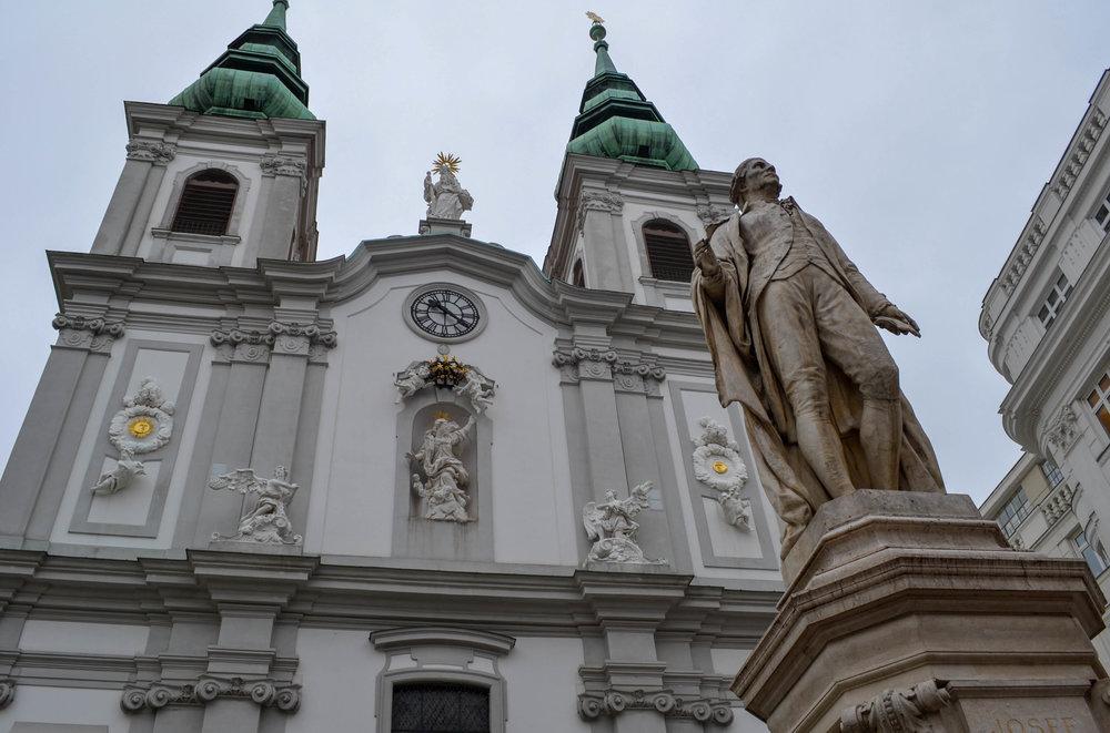 Church of Mariahilf Exterior