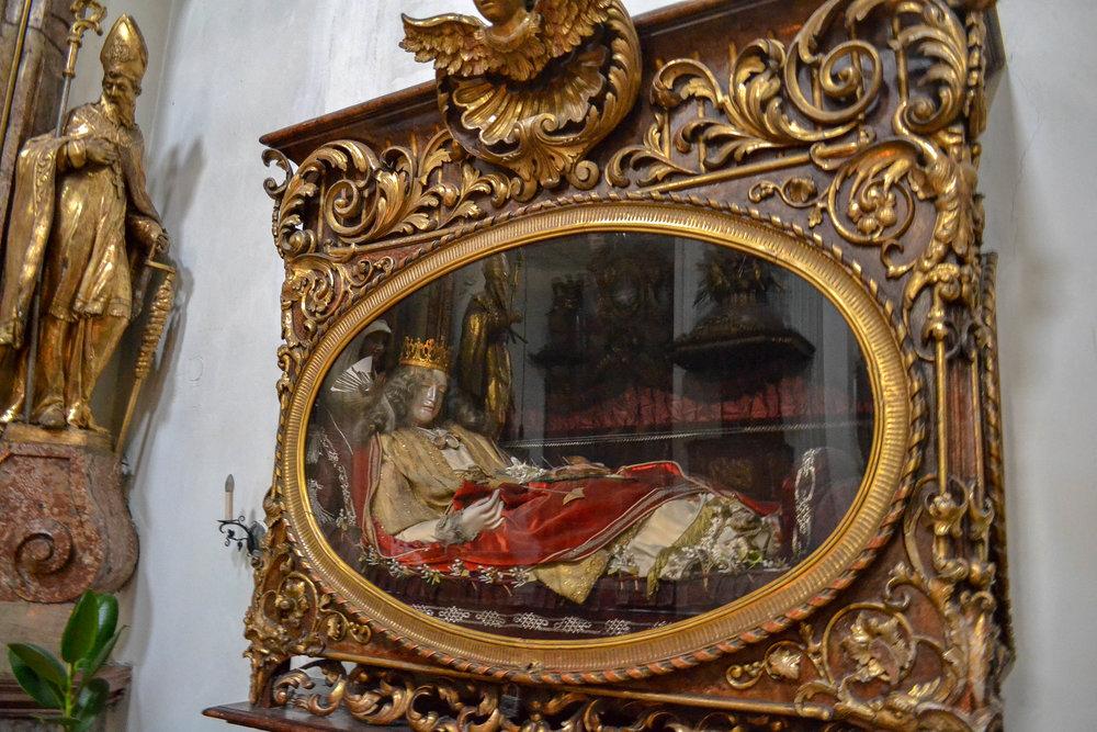 Church of Mariahilf Relics