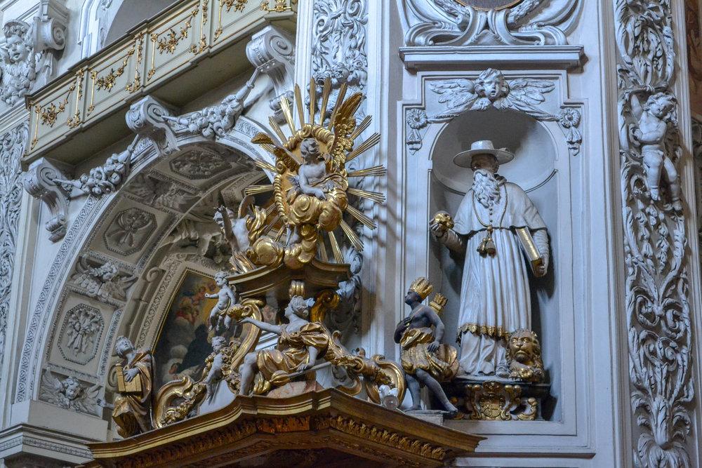 Dominican Church Sculpture Group