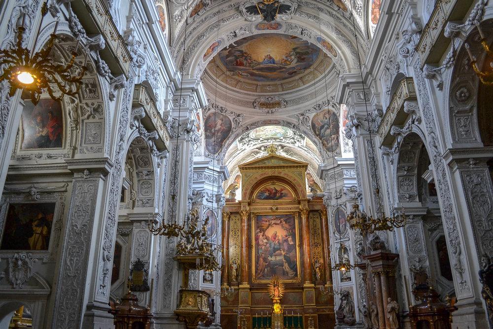 Dominican Church Interior