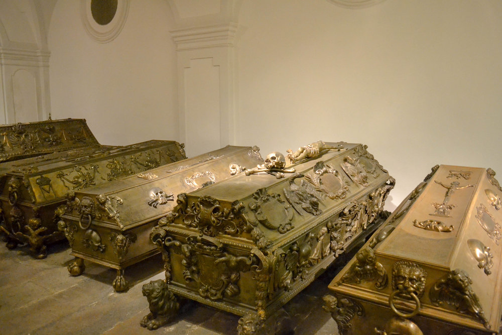 Imperial Crypt Coffins