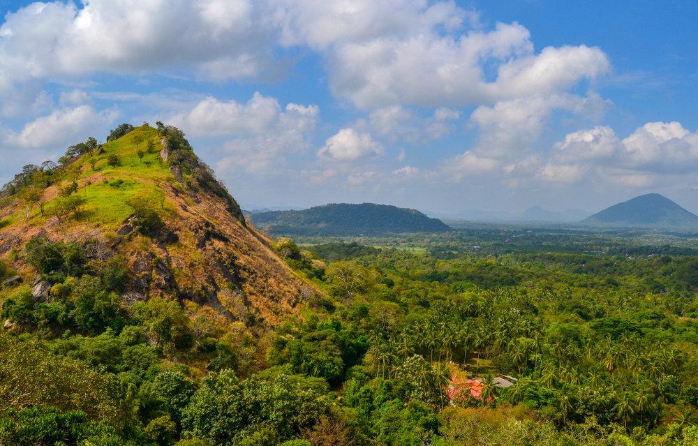 Dambulla Cave Temple Landscape