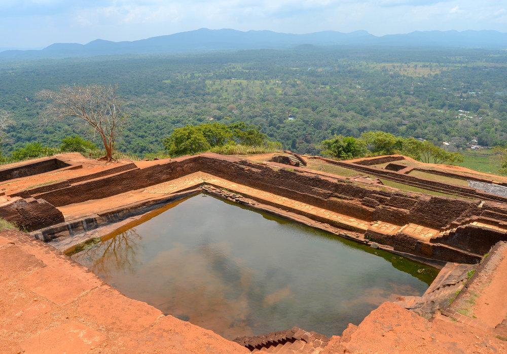 Sigiriya Rock Fortress Pool