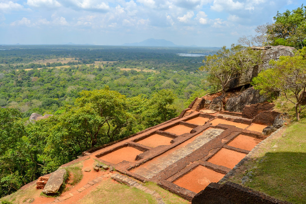 Sigiriya Rock Fortress Foundations