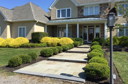 Flagstone Walkway in Doylestown, PA
