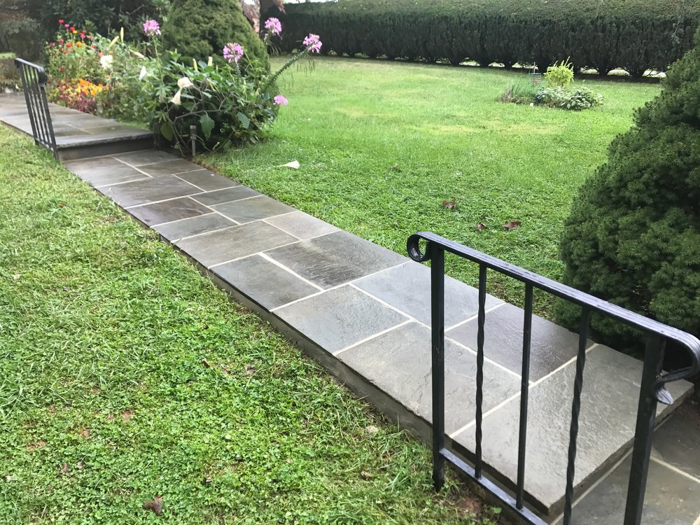 Flagstone Walkway in Newtown, PA