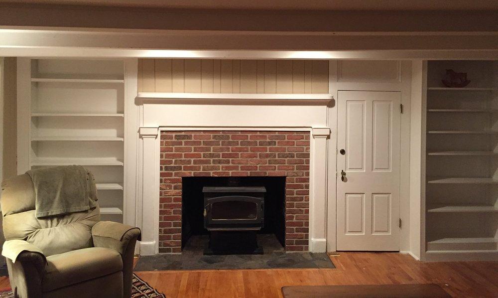 Copy of Brick Veneer Fireplace in Clinton, NJ