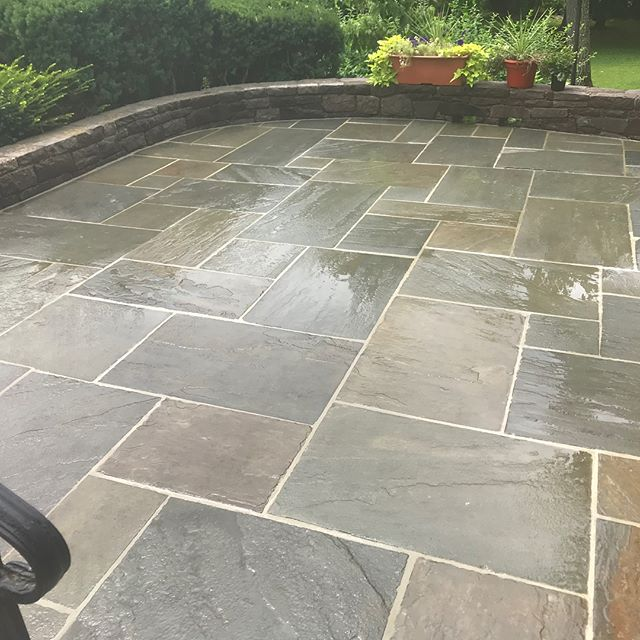 Bringing this 56 year old patio back to life! Swipe to see the before and progress pictures.