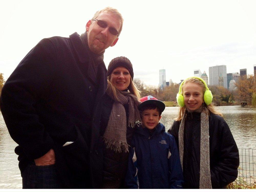 The Sack Family – Central Park, NY, NY 2012