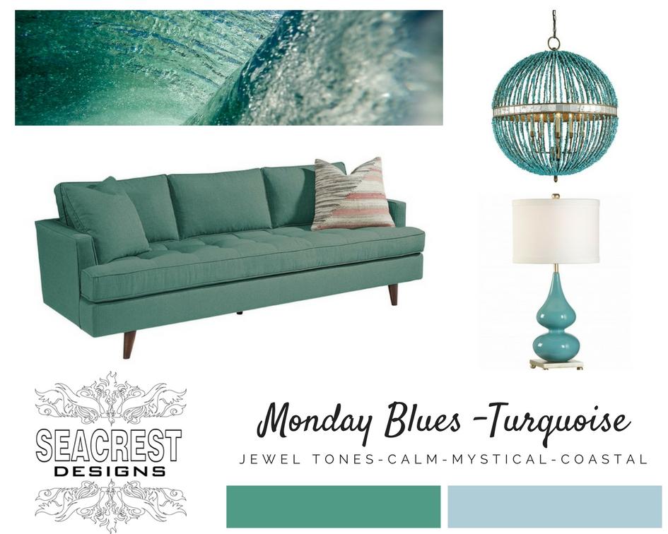 Monday Monday - Turquoise