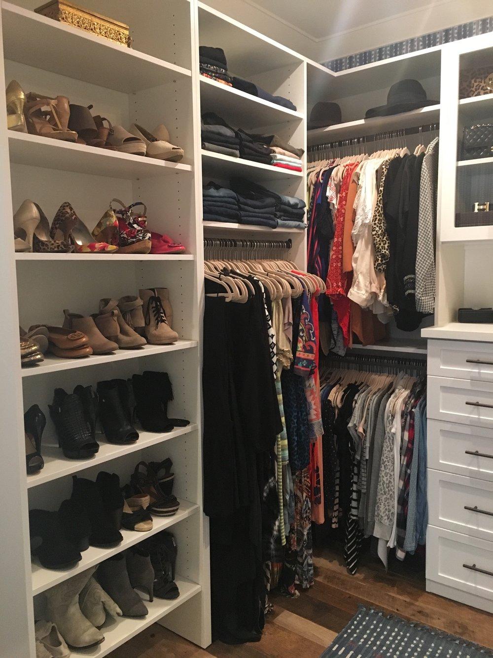 Closet Organizing - Wardrobe editing