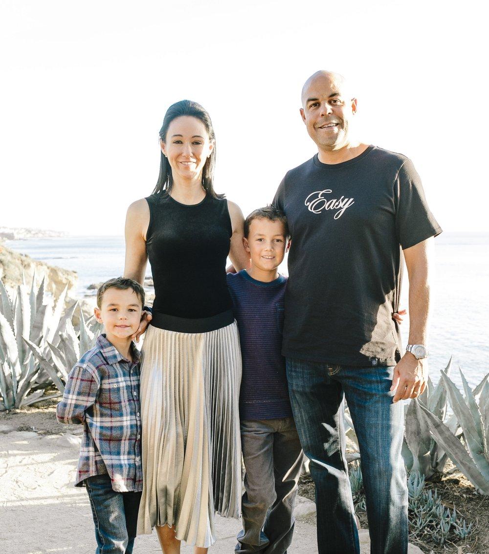 James, Elisa, Andre Jr & Andre Sr