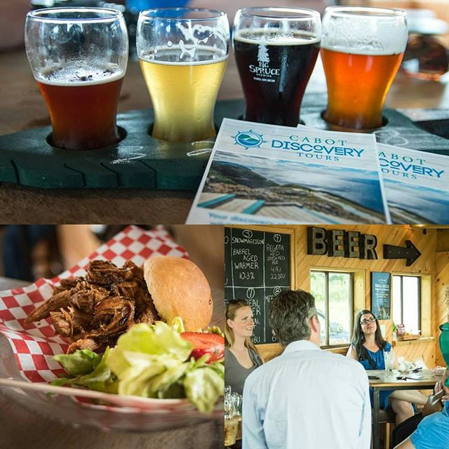Received these great pics courtesy of the super talented Steve and Emily Rankin from their recent outing on our Good Cheer Discovery Tour. We sampled awesome organic craft beer at Big Spruce Brewing, and indulged at Cruisin Cuisines farm to fork food truck. #capebreton #ExploreCB #VisitNovaScotia #bigspruce #cruisincuisine #goodcheertrail