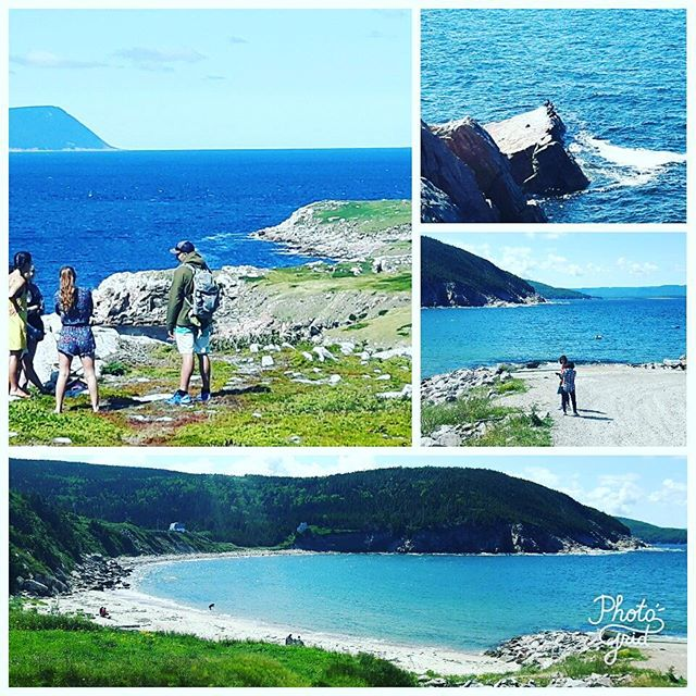 Amazing hues of blue at a favorite stop of visitors of both the human and avian type along the #CabotTrail. #ExploreCB #VisitNovaScotia #capebreton #CabotTrail #tours #ExploreCanada #adventure #travel #keepitwild #wanderlust #capebretonhighlands #cabotlinks #parkscanada #baddeck #inverness #cruise #bigfiddle #bucketlist #beabetterguide #Canada'sMusicalCoast #Canada150 #lookoffs #ocean #couldstayallday