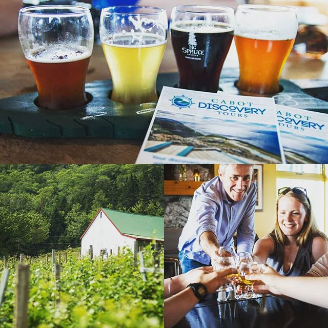 "Our Good Cheer Discovery Tour is the ideal adventure for your bachelor, bachelorette, or ""Jack & Jill"" party. This tour includes the best of local Cape Breton tastings of craft beer, wine, and single malt whiskey! Get in touch to book your group today."