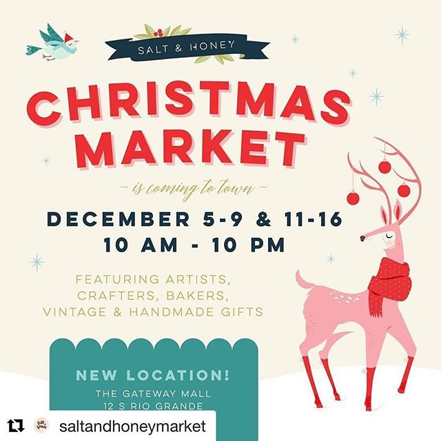 #utahartscene @saltandhoneymarket ・・・ Going on now!💕 #saltandhoneymarket #utahmakersmarket #craftmarketutah