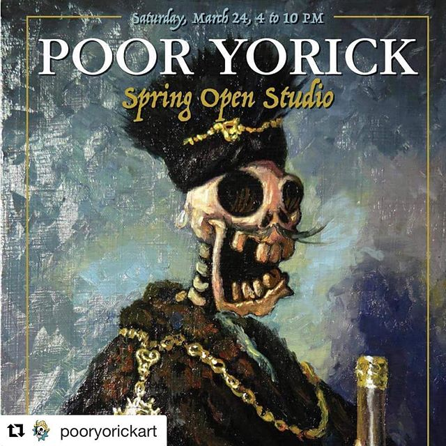 #Repost @pooryorickart (@get_repost) ・・・ Here it is folks! The date is set and the event is live!  https://www.facebook.com/events/169774170337202/?ti=cl