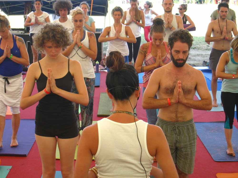 Yoga Class Jun Lee Costa Rica