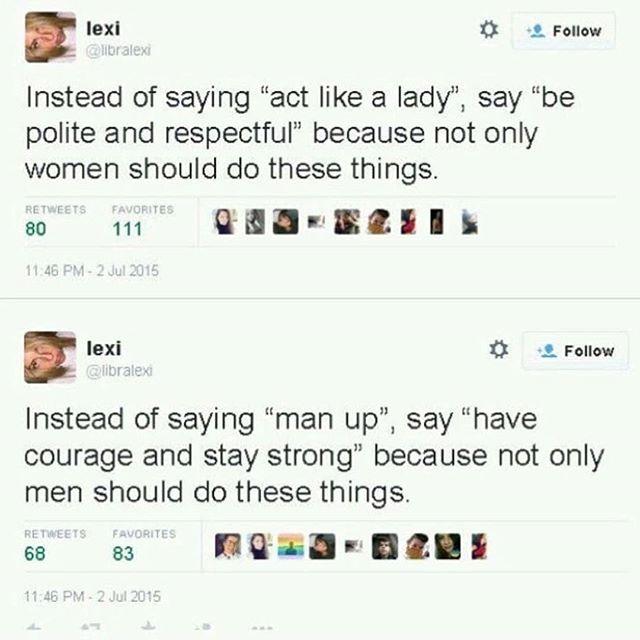👐 via @the_feminist_warrior  #forabrighterkal #masculinity #menandfeminism #intersectionalfeminism #leadership #womanup #womensupportingwomen #feminist