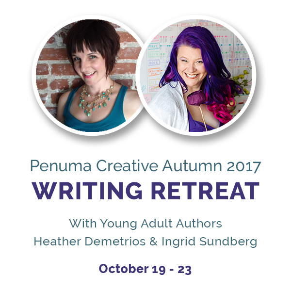 *Cue happy dance* - There is still space left, so please email me ASAP and I'll send you all the info you need to make your deposit, etc. Can't wait to see you at this gorgeous site for an unforgettable drenching in creativity.