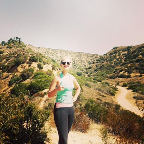Hiking Malibu Canyon with Benny. #rehabadventures