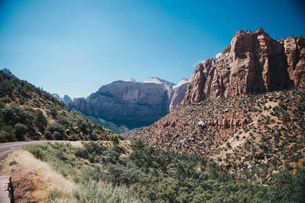 Day 2 - Drive to Zion National Park & volunteer at the park.
