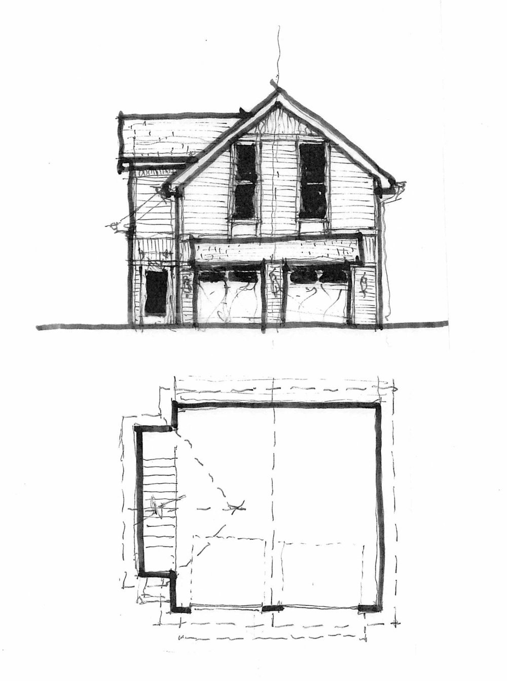 Proposed carriage house