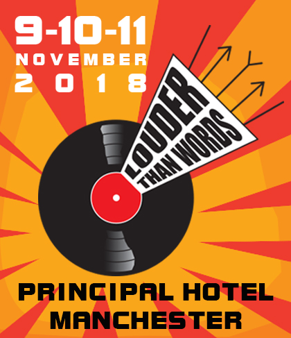Fri 9 November 2018 - 'The UK's biggest music based literature festival', Louder Than Words, takes places next week at the Principal Hotel, perfect for fans and aficionados of music and popular culture and the words associated with these industries.The event will bring together authors, artists, poets, performers, lyricists, journalists, DJs, bloggers, and publishers, for in-depth conversations, panel discussions, and workshops.Tickets available on Eventbrite.