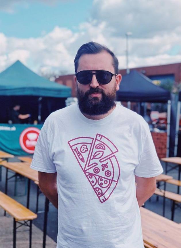 Simon reppin Leeds Indie Food Merch
