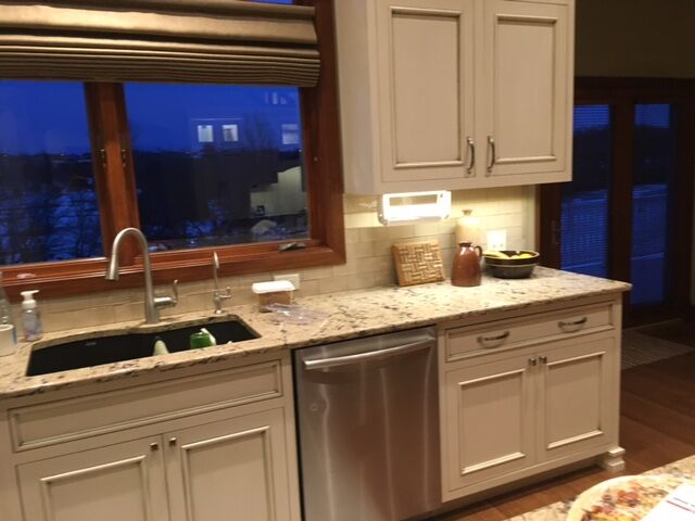 Under cabinet lighting electrician dd electric sioux falls sd we have even done installations in garages shops and any other flat work area with cabinets that overhang aloadofball Images