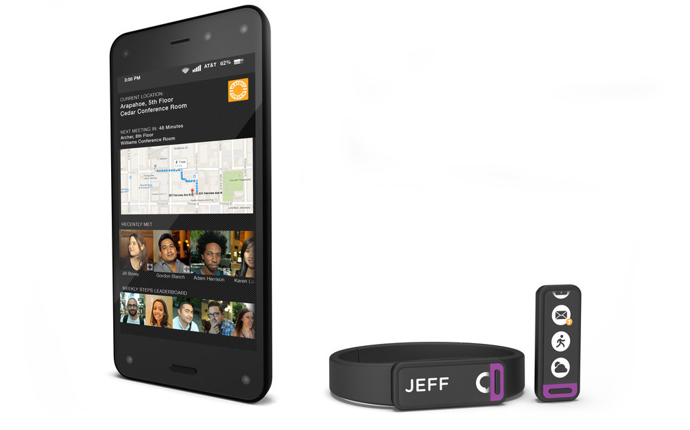 Integrated ID band and app.