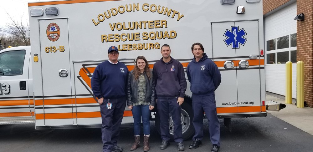 Visiting the Rescue Squad