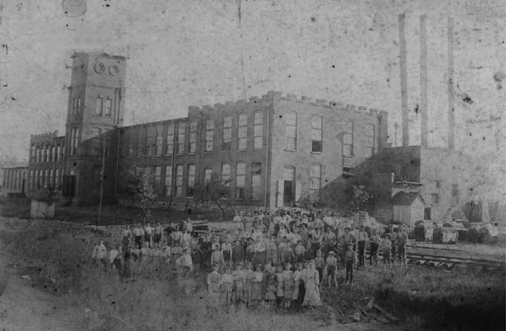 Old Jefferson Cotton Mill Circa 1907