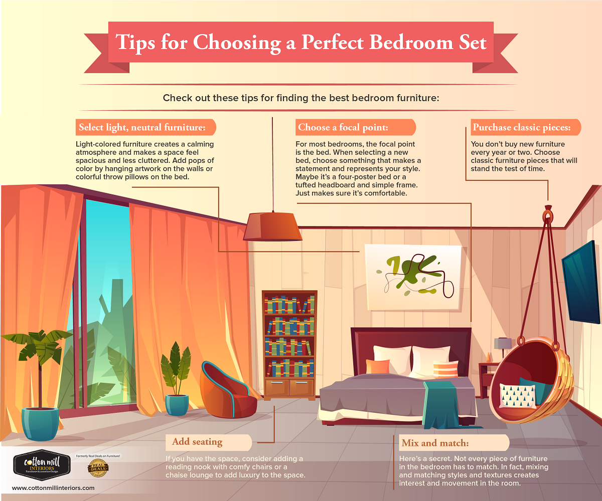 Tips For Choosing A Perfect Bedroom Set Jefferson Home Furniture Store Hoschton Home Decor Cotton Mill Interiors