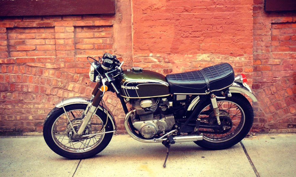 1972 CB350