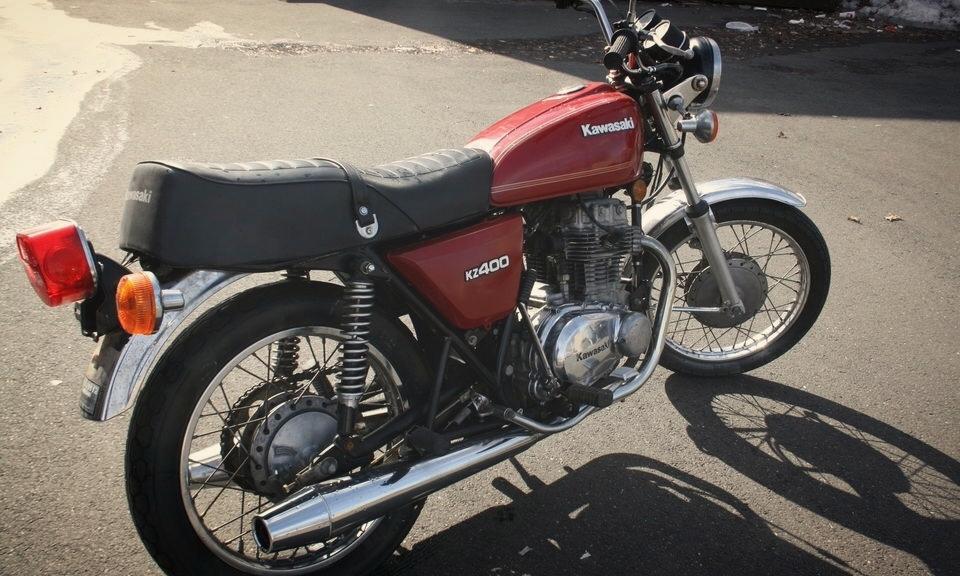1978 Kawasaki KZ400LTD