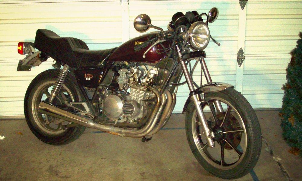 1982 Kawasaki KZ550LTD