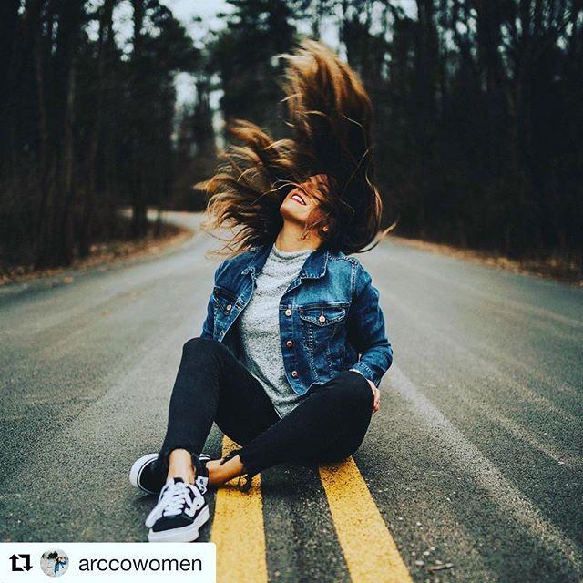 #repost @arccowomen new year, new jeans 👖🖤