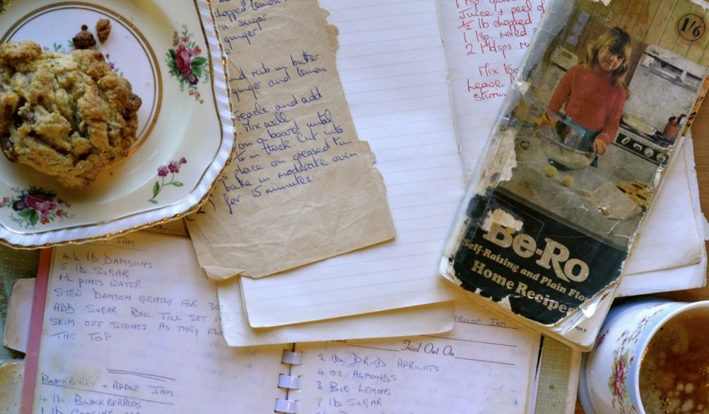 Recipe book inspiration a bookish baker old recipe booksg forumfinder Choice Image