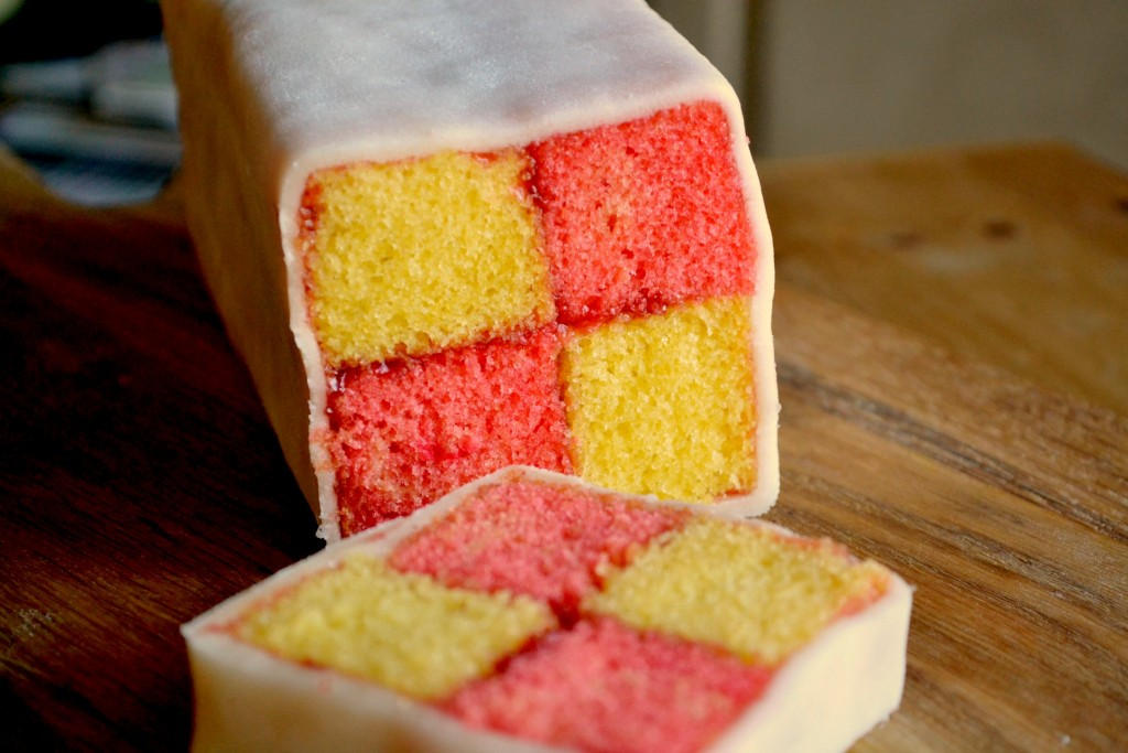 How to make a battenberg cake