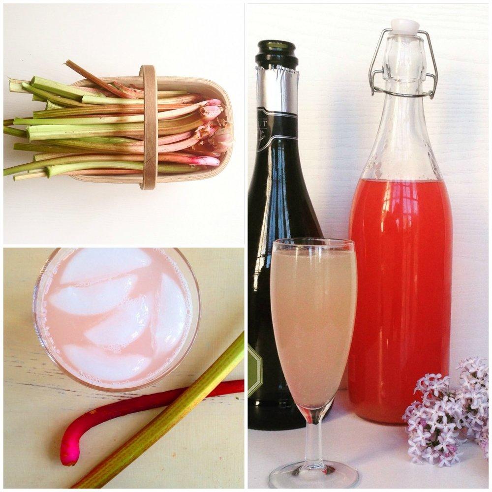 Rhubarb Cordial Recipe