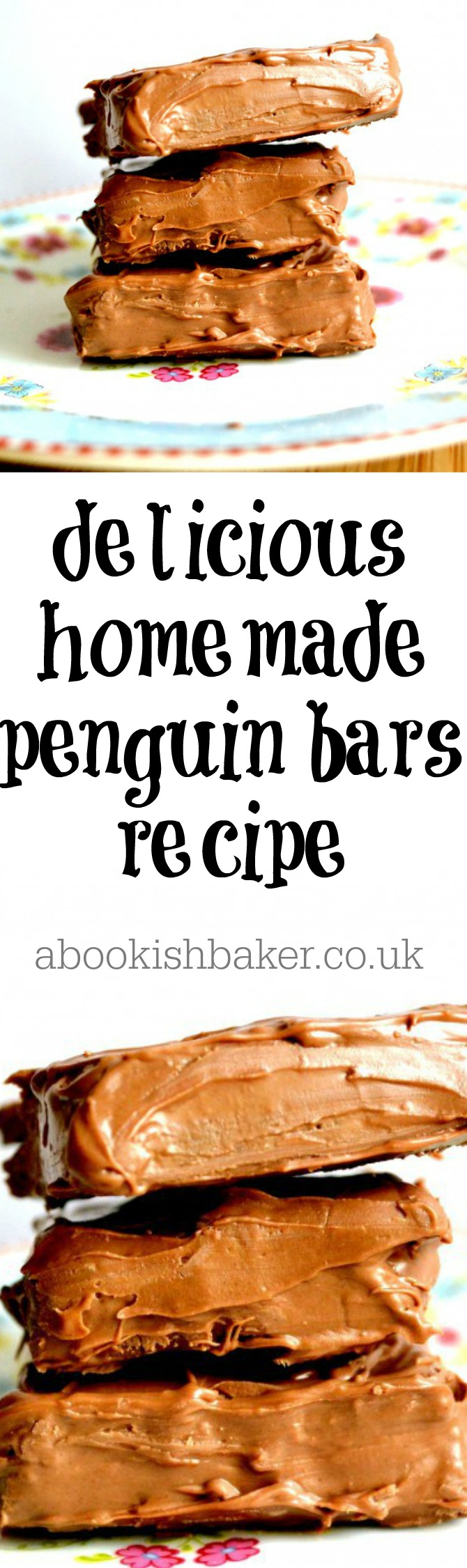 homemade penguin bar recipe - extremely delicious. Great for bake sales, coffee mornings, tea time treats and dessert. http://abookishbaker.co.uk/